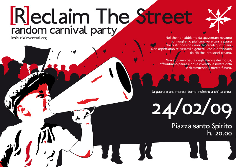 RECLAIM THE STREET! Random Street Carnival